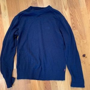 The North Face Navy Blue Long Sleeve Knit Sweater